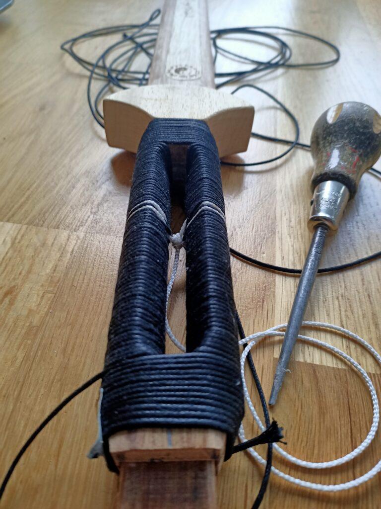 handvat jian zwaard hout making off
