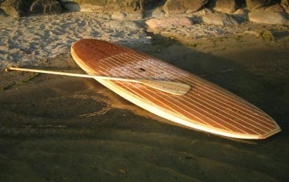 handgemaakt stand up paddleboard